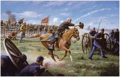 The Barksdale Charge by Gary Lynn Roberts   Gettysburg. At six o'clock on the evening of July 2nd. 1863, after waiting impatiently for hours, Confederate General William Barksdale and his Mississippi Brigade were given permission to attack. Taking his position at the head of the Brigade, Barksdale led the charge, capturing a Federal battery in the process, and nearly breaking through the main Federal line. Barksdale was mortally wounded, and died in a Federal field hospital the next morning