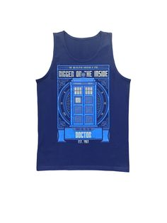 Wibbly Wobbly Timely Wimely (Men's Tank)