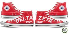 Delta Zeta Back-To-Backs – Tready Shoes These #DZ Custom Chucks are a great Big Little Reveal gift. You and your Big or Little will stand back to back to reveal Delta Zeta. Not your average DZ Letter Shirts ay Turtles?