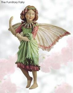 RETIRED Cicely Mary Barker Fumitory Flower Fairy Figurine Ornament | eBay