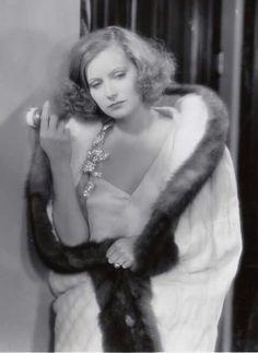 Greta Garbo, beautiful, great actress.