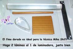 FIMO MANUALIDADES de MT: TECNICA MIKA SHIFT