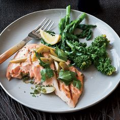 The Good News Joe Bastianich likes the way protein- and omega 3–rich salmon gives him lots of energy without weighing him down. Here, it's grilled u...