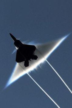 F-22's sonic boom  ' Hamza