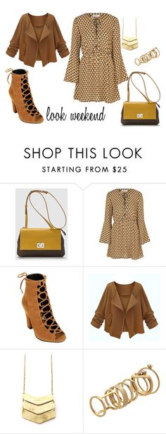 """look weekend"" by aliciagorostiza on Polyvore featuring moda, Glamorous y Lipsy"