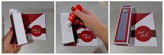 DIY: Cartão / Mini caixinha de bombons | Namorada Criativa - Por Chaiene Morais Playing Cards, Mini, Valentine Box, Candy Boxes, Creative Gifts For Boyfriend, Bonbon, Made By Hands, Creativity, Paper Envelopes