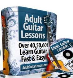 Adult Guitar Lessons AdultGuitarLessons is a comprehensive, multi-media online guitar lessons course that will provide you all the skills you need to become the best guitar player you can possibly be - starting today!