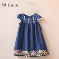 Cheap dress for kids girls, Buy Quality fashion girl dress directly from China girls dress Suppliers: Summer 2017 Fashion Girls Dresses Children Kids Dress Flower Embroidered Cotton Dress for Kids Girls Clothes Girls Summer Outfits, Cute Outfits For Kids, Toddler Girl Dresses, Girl Outfits, Girls Dresses, Moda Kids, Frocks For Girls, Flower Dresses, Cotton Dresses