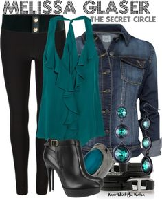 Inspired by Jessica Parker Kennedy as Melissa Glaser from The Secret Circle.
