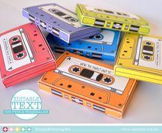 Caja de cinta 7 cajas EDITABLE regalo por SimplyEverydayMe