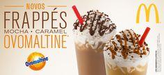 Venha experimentar os novos Frappés gelados, cremosos e deliciosos do McDonald's. \o/ Mais em: http://McDonalds.com.br/cbb pic.twitter.com/EWzpnZFlPz