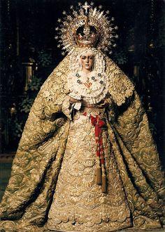 Virgen de la esperanza Macarena, Sevilla, Andalucía. España