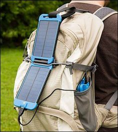 PowerMonkey Extreme Solar Charger Set - Lee Valley Tools - Tap The Link Now To Find Gadgets for Survival and Outdoor Camping Camping Bedarf, Camping Survival, Outdoor Survival, Camping Hacks, Outdoor Camping, Outdoor Gear, Camping Gadgets, Camping Tools, Camping Guide