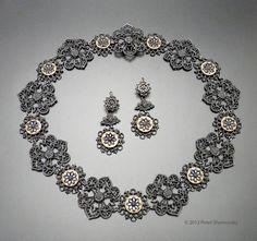 fine jewelry antiques   Suite of Berlin Iron Jewelry   Peter Jon Shemonsky   Fine Jewelry