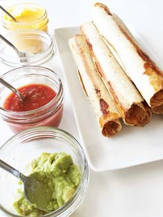 Baked Spicy Chicken & Cheese Taquitos (Sponsored) — The Skinny Fork