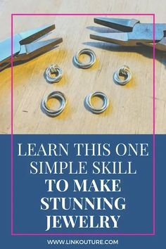 Get started making jewelry at home by learning how to make jump ring jewelry with this ridiculously simple yet super gorgeous technique. Handmade Wire Jewelry, Wire Wrapped Jewelry, Jump Ring Jewelry, Beautiful Gifts For Her, Do It Yourself Jewelry, Chainmaille, Jewelry Making Tutorials, Jewelry Patterns, Bracelet Patterns