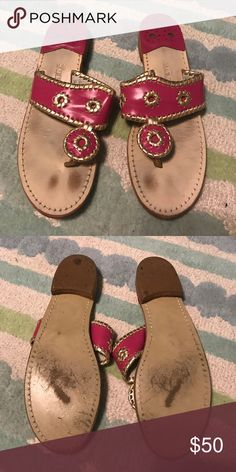 Jack Rogers Sandals In good condition and in need of a good home! Jack Rogers Shoes Sandals