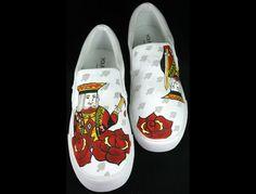 Your Kicks' hand painted sneakers Painted Vans, Painted Sneakers, Hand Painted Shoes, Vans Shoes For Sale, Kicks, Jordans, Slip On, Stitch, Twitter