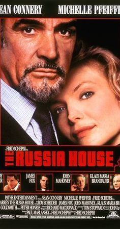 """Sean Connery and Michelle Pfeiffer in """"The Russia House""""."""