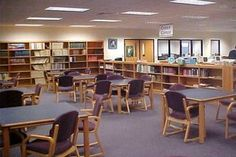 How to Improve Your School Library Media Center | eHow Elementary Library Decorations, Elementary School Library, Middle School Libraries, Elementary Schools, Library Furniture Design, School Library Design, Library Inspiration, Library Ideas, Library Lessons