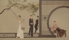 Sun Jun - Photography of New Literati painting - Tea of Ancient Classics