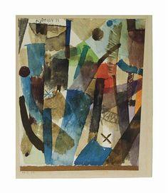 Paul Klee, Bewegung der Kamine (Movement of the Chimneys)