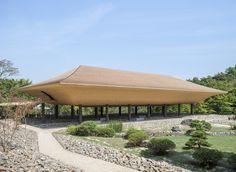 Kohtei art pavilion in the Shinshoji Zen Museum and Gardens in Fukuyama by Sandwich