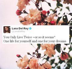 Lana tweet #LDR
