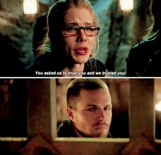 Felicity & Al Sah-Him #Arrow #ThisIsYourSword