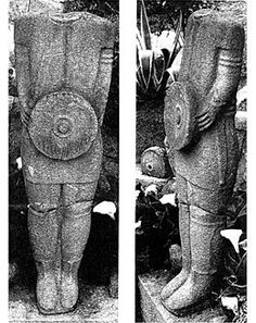 Figure 7. Warrior statue from Santa Comba. After Calo (2003).