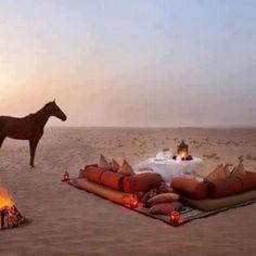 Serenity in the desert...
