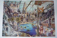 4000 flickriver Fantastic Voyage, Gabor Szittya. Nathan puzzle 1992, 4000 pieces.