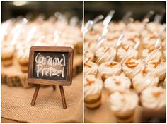 Wine themed weeding at Bull Run Winery. Desserts by Purple Onion Catering Co.
