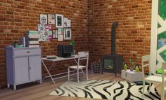 Sims 4 CC's - The Best: S3 to S4 - Jope Office 2 by ChiLlis Sims