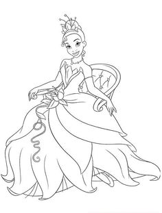Looking for a Disney Princess Tiana Coloring Pages Free. We have Disney Princess Tiana Coloring Pages Free and the other about Coloring Pages it free. Frog Coloring Pages, Coloring Pages For Girls, Coloring For Kids, Printable Coloring Pages, Coloring Sheets, Coloring Books, Free Coloring, Disney Princess Coloring Pages, Disney Princess Colors