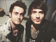 Sam Bettley and Denis Stoff- Asking Alexandria