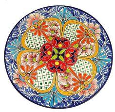 Gorgeous Round Talavera Platter