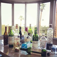 Turk family weekend recycling... Desert air makes you thirsty! #makersmark #cazadoresreposado #chuckanutbaydistillery #ridgevineyards @Kathy Chan Chan Gall...