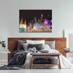 All canvas prints are stretched and ready to hang using sustainably sourced, and environmentally safe timber and timber composite materials approximately 1.5 inches (3.5 cm) thick. #melbourneart #melbournephotography #unitedinteriors