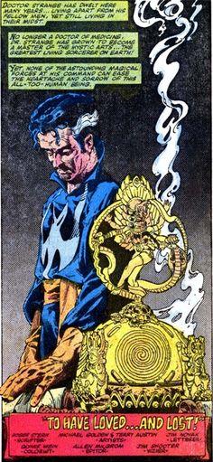 Dr Strange art by Michael Golden