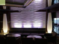 В проекте использованы: 3D панели из гипса по индивидуальному эскизу. Отделка: белая матовая эмаль. http://www.letostyle.ru/view/1008/