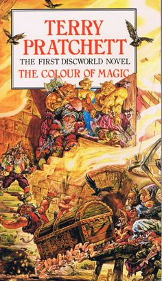 The Colour of Magic. And all the rest. Funny stuff!