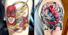 10 Heroic Tattoos Of The Flash!
