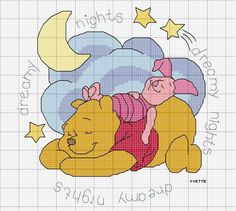 Pooh and Piglet- Dreamy nights
