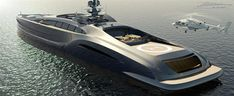 """Nedship has been busily designing its latest luxury yacht. Called the Sovereign the vessel is a giant super sport yacht with what Nedship call """"the James Bond Factor"""". Yacht Design, Boat Design, Extreme Boats, Luxury Sailing Yachts, Luxury Boats, Yatch Boat, Surf, Sport Yacht, Power Boats For Sale"""