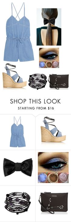 """""""Pisces Summer Outfit"""" by amyoakblossom ❤ liked on Polyvore featuring Steve J & Yoni P, Yves Saint Laurent, Puma, 1928 and Etienne Aigner"""