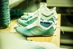 Stitched with thread produced from discarded fishing nets, Adidas' newest shoes are a collaboration with the ocean activist collective and companyParley for the Oceans. The idea for the shoe was hatched last year, but was more of a idealistic prototype than a ready-to-wear option for the m