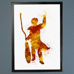 Harry Potter Quidditch Golden Snitch by WatercolorFontaine on Etsy