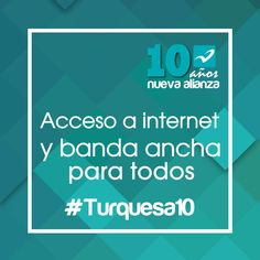 El Internet debe ser un derecho para todos los mexicanos #Turquesa10