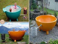 "The Innovative ""Dutch Tub"" Hot Tub | DIY Cozy Home"